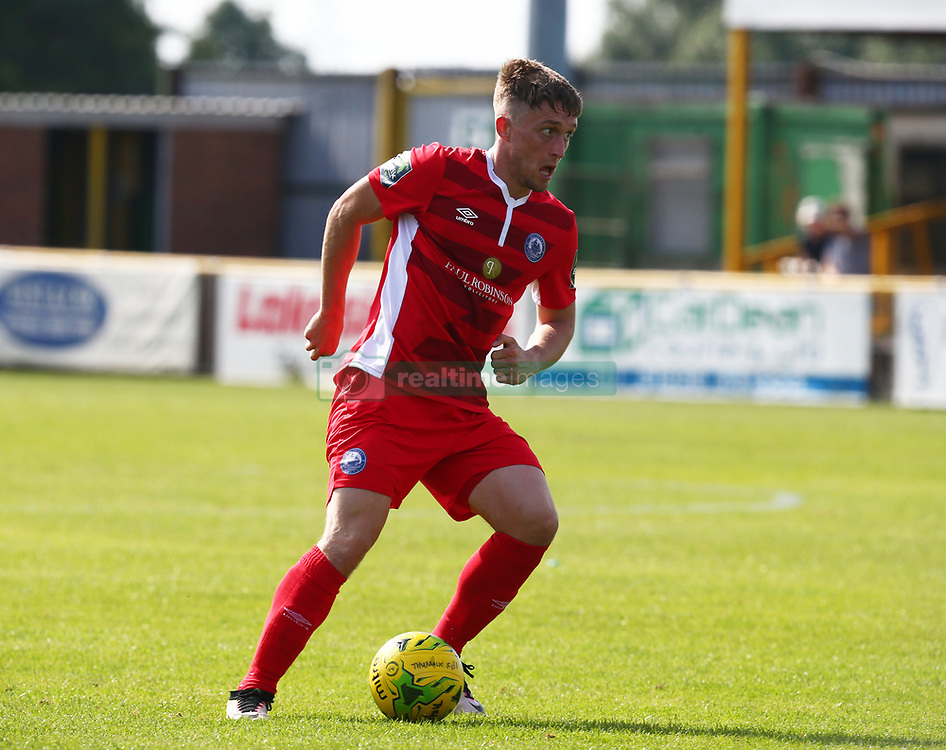 August 28, 2017 - London, United Kingdom - Jake Robinson of Billericay Town.during Bostik League Premier Division match between Thurrock vs Billericay Town at  Ship Lane Ground, Aveley on 28 August 2017  (Credit Image: © Kieran Galvin/NurPhoto via ZUMA Press)