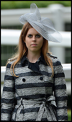 Princess Beatrice Talks to The Duchess of Cornwall at the Opening day of Royal Ascot 2013 Ascot, United Kingdom<br /> Tuesday, 18th June 2013,<br /> Picture by Andrew Parsons / i-Images