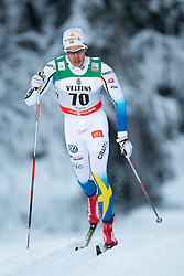 30.11.2014, Nordic Arena, Ruka, FIN, FIS Weltcup Langlauf, Kuusamo, 15 km Herren, im Bild Marcus Hellner (SWE) // Marcus Hellner of Sweden during Mens 15 km Cross Country Race of FIS Nordic Combined World Cup at the Nordic Arena in Ruka, Finland on 2014/11/30. EXPA Pictures © 2014, PhotoCredit: EXPA/ JFK
