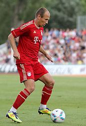 14.07.2011, Ernst-Abbe-Sportfeld, Jena, GER, Benefizspiel, Carl Zeis Jena vs FC Bayern im Bild ..Arjen Robben (Bayern München) . .. //during the freindlc match between Carl Zeis Jena - FC Bayern 2011/07/14   EXPA Pictures © 2011, PhotoCredit: EXPA/ nph/  Hessland       ****** out of GER / CRO  / BEL ******