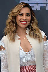 May 14, 2019 - New York, NY, USA - May 14, 2019  New York City..Christina Vidal attending Walt Disney Television Upfront presentation party arrivals at Tavern on the Green on May 14, 2019 in New York City. (Credit Image: © Kristin Callahan/Ace Pictures via ZUMA Press)