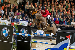 Schwizer Pius, SUI, Cortney Cox<br /> Jumping Mechelen 2019<br /> © Hippo Foto - Dirk Caremans<br />  30/12/2019
