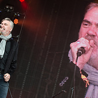 The Undertones in concert at Rewind Scotland, Scone Place, Perth, Scotland