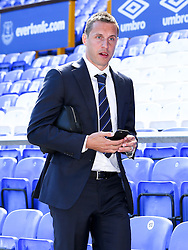 Everton's Phil Jagielka arrives at Goodison Park  - Photo mandatory by-line: Matt McNulty/JMP - Mobile: 07966 386802 - 26/04/2015 - SPORT - Football - Liverpool - Goodison Park - Everton v Manchester United - Barclays Premier League