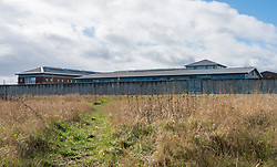 Exterior view of HMP Edinburgh in Saughton, Edinburgh, Scotland, Uk