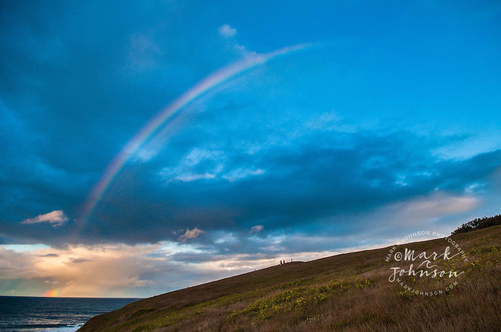 Rainbow at Sandy Beach, NSW, Australia