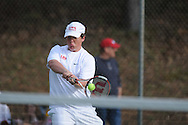 Lafayette vs. Mooreville in tennis action at Ole Miss in Oxford, Miss. on Wednesday, March 23, 2011.