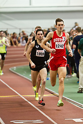 Boston University Terrier Invitational Indoor Track Meet: Stuart Ross, Dorian Ulrey lead Elite Mens Mile