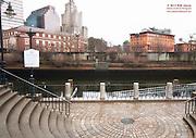 Through the Bridge Enroute to Citizen's Plaza - Providence, Rhode Island