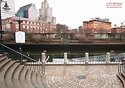 Through the Bridge Enroute to Citizen's Plaza - Providence, Rhode Island