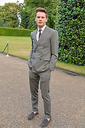JEREMY IRVINE at The Ralph Lauren & Vogue Wimbledon Summer Cocktail Party at The Orangery, Kensington Palace, London on 22nd June 2015.  The event is to celebrate ten years of Ralph Lauren as official outfitter to the Championships, Wimbledon.