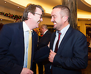 Cllr Niall McNelis  and Gort Self Help Africa CEO Ray Jordan   at the Gorta Self Help Africa Annual Ball at the Galway Bay Hotel, Salthill Galway.<br /> Photo:Andrew Downes, xposure.