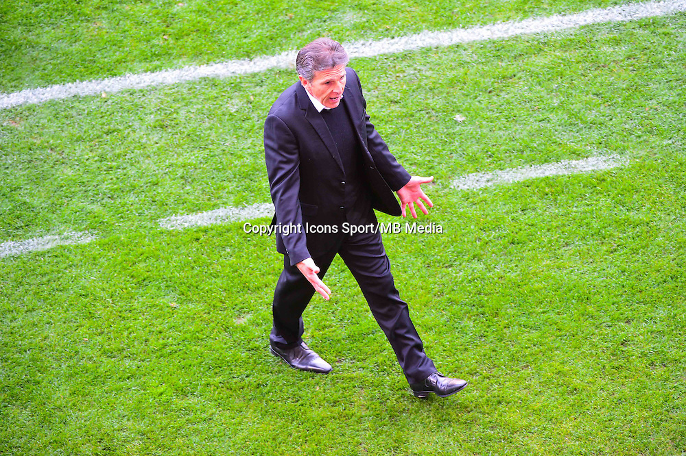 Claude PUEL  - 12.04.2015 - Reims / Nice - 32eme journee de Ligue 1 <br />