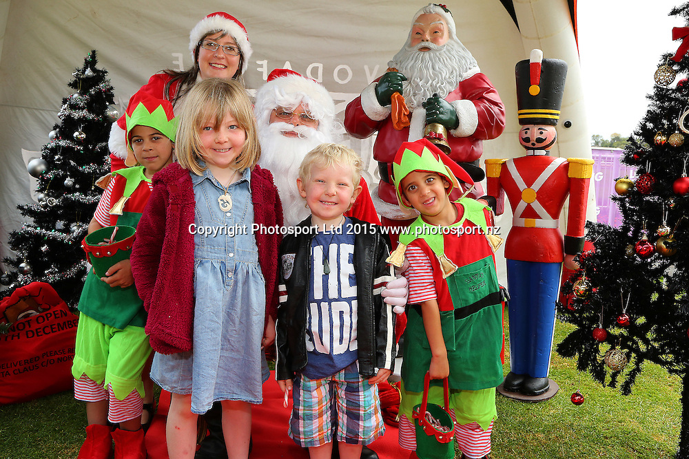 The Vodafone Warriors members' Christmas party held at Ellerslie Racecourse on Sunday December 13, 2015. Photo: David Mackay / www.photosport.nz