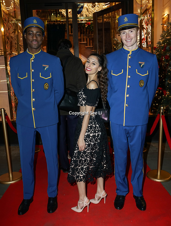 Fernanda Zorzal is an style Consultant attends the Aspinal of London store on Regent's Street St. James's on December 5, 2017 in London, England.