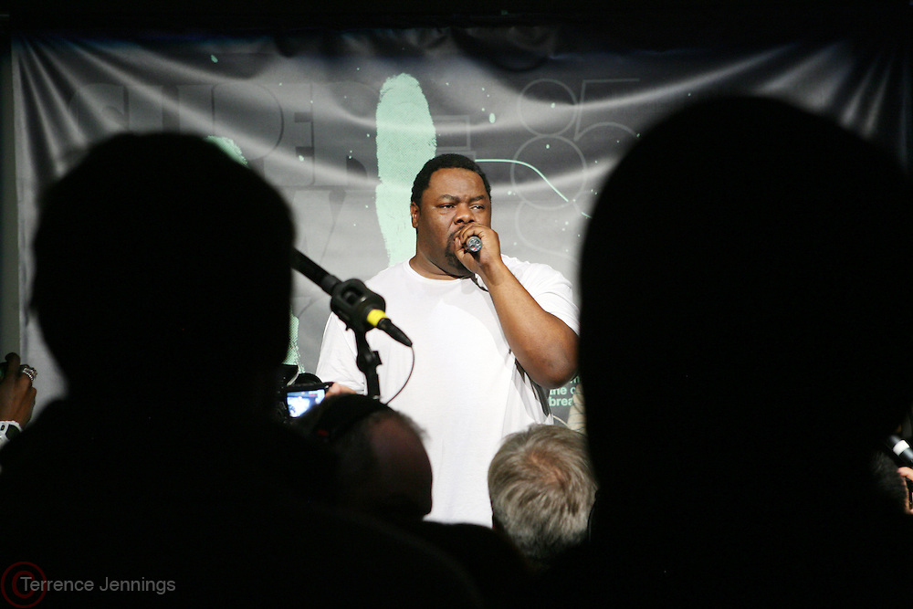 Biz Markie at the Common Celebration for the Capsule Line Launch with Softwear by Microsoft at Skylight Studios on December 3, 2008 in New York City..Microsoft celebrates the launch of a limited-edition capsule collection of SOFTWEAR by Microsoft graphic tees designed by Common. The t-shirt  designs. inspired by the 1980's when both Microsoft and and Hip Hop really came of age, include iconography that depicts shared principles of the technology company and the Hip Hop Star.