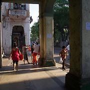 Prado Avenue, Havana, Cuba.