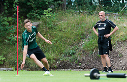 24.07.2015, Sportplatz Buergerau, Saalfelden, AUT, Trainingslager, Hannover 96, im Bild Michael Frontzeck (Hannover 96) // during the Trainingscamp of German Bundesliga Club Hannover96 at the Sportplatz Buergerau in Saalfelden, Austria on 2015/07/24. EXPA Pictures © 2015, PhotoCredit: EXPA/ JFK