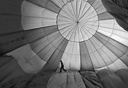 Sandy (Branham) Kneeland, Hot Air Balloon Pilot