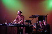 Chris Cutler performing at the Experimenta club in Madrid 2006
