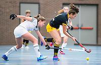 BARNEVELD - Hoofdklasse zaalhockey dames. Den Bosch-Rotterdam (1-0). Noor Omrani. COPYRIGHT KOEN SUYK