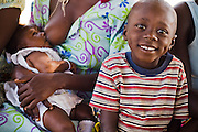 Boy smiling. Northern Ghana, Thursday November 13, 2008.