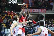 Abass Awudu<br /> Milano vs BASKONIA VITORIA GASTEIZ<br /> BASKET Euroleague 2016-2017<br /> Milano 15/11/2016 <br /> FOTO CIAMILLO