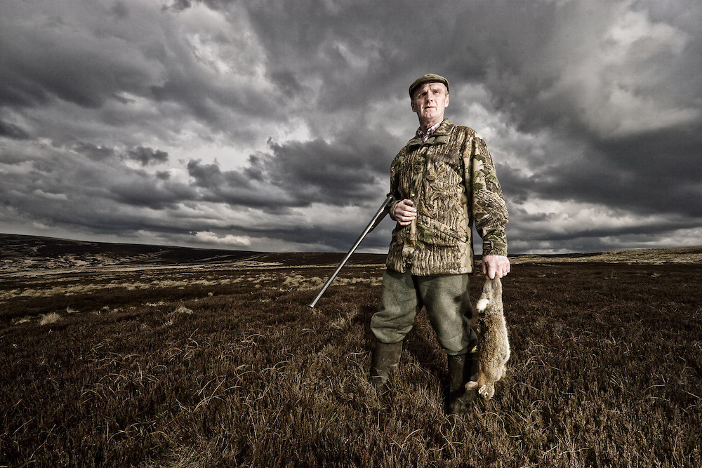 Mick the Gamekeeper - Walshaw Moor , Yorkshire