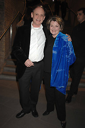 BRENDA BLETHYN and MICHAEL MAYHEW at Fast Forward - a fund-raising party for the National Theatre held at The Roundhouse, London NW1 on 1st March 2007.<br />