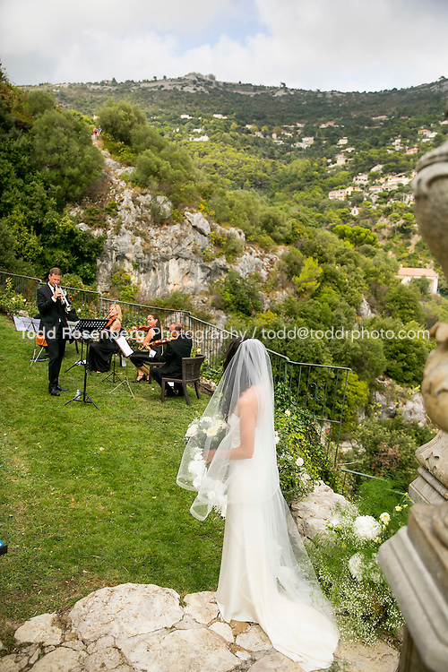 9/16/15 7:36:04 AM -- Eze, Cote Azure, France<br /> <br /> The Wedding of Ruby Carr and Ken Fitzgerald in Eze France at the Chateau de la Chevre d'Or. <br /> . &copy; Todd Rosenberg Photography 2015