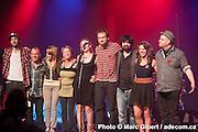 Les chansonneurs 2011 au Festival en chanson de Petite Vallée -  Théâtre de la Vieille Forge / Petite Vallée / Canada / 2012-06-25, Photo © Marc Gibert / adecom.ca