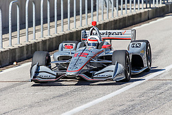 February 12, 2019 - U.S. - AUSTIN, TX - FEBRUARY 12: Will Power (12) in a Chevrolet powered Dallara IR-12 leaves the pits during the IndyCar Spring Training held February 11-13, 2019 at Circuit of the Americas in Austin, TX. (Photo by Allan Hamilton/Icon Sportswire) (Credit Image: © Allan Hamilton/Icon SMI via ZUMA Press)