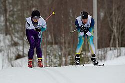 ABE Yurika, REPTYUKH Ihor, JPN, UKR, Long Distance Biathlon, 2015 IPC Nordic and Biathlon World Cup Finals, Surnadal, Norway