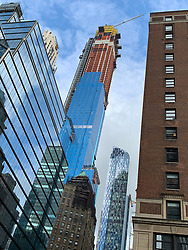 New Construction on 57th Street in New York City