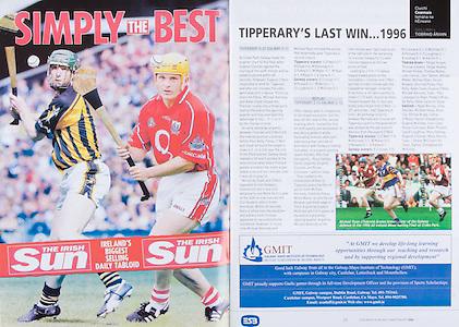 All Ireland Senior Hurling Championship Final,.03.09.2006, 09.03.2006, 3rd September 2006,.Senior Kilkenny 1-16, Cork 1-13,.Minor Tipperary 2-18, Galway 2-7.3092006AISHCF,.The Irish Sun,