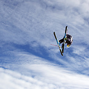 Kai Mahler, Switzerland, in action during the Men's Freeski Big Air competition at Cardrona, New Zealand during the Winter Games. Wanaka, New Zealand, 20th August 2011. Photo Tim Clayton