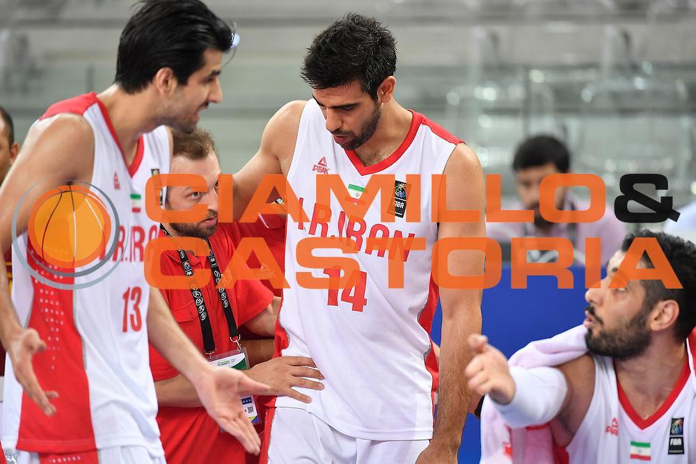 DESCRIZIONE: Torino FIBA Olympic Qualifying Tournament Messico Iran<br /> GIOCATORE: Kazeni Ardalan<br /> CATEGORIA: IRAN IRAN<br /> GARA: FIBA Olympic Qualifying Tournament Messico Iran<br /> DATA: 05/07/2016<br /> AUTORE: Agenzia Ciamillo-Castoria