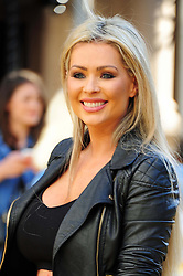 © licensed to London News Pictures. LONDON UK  11/06/15. Nicola McLean attends the World Premier of The Minions Movie in Liecester Square London. Please see special instructions for usage rates. Photo credit should read ALAN ROXBOROUGH/LNP