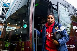 Korey Smith of Bristol City arrives on the coach - Rogan/JMP - 18/11/2017 - Hillsborough Stadium - Sheffield, England - Sheffield Wednesday v Bristol City - Sky Bet Championship.