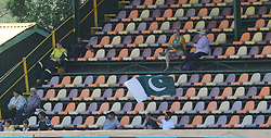Johannesburg 19-12-18. South Africa Invitation XI vs Pakistan. Pakistan open their tour of South Africa with a three-day match at Sahara Willowmoore Park, Benoni. Day 1, afternoon session.  Pakistan fans in the grand stand on the west side of the grounds. Picture: Karen Sandison/African News Agency(ANA)