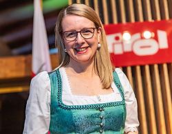 23.01.2020, Kitzbühel, AUT, FIS Weltcup Ski Alpin, Tirol Empfang zum Auftakt des Hahnenkammwochenendes, im Bild Margarete Schramböck (Bundesministerin für Wirtschaftsstandort und Digitalisierung) // Austria federal Minister for Business Location and Digitization Margarete Schramböck during the Tyrol reception at the opening of the FIS Ski Alpine World Cup in Kitzbühel, Austria on 2020/01/23. EXPA Pictures © 2020, PhotoCredit: EXPA/ Johann Groder