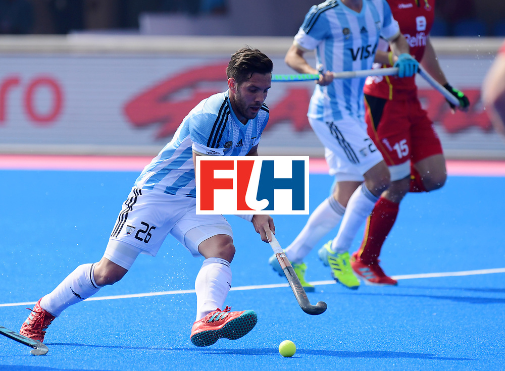 Odisha Men's Hockey World League Final Bhubaneswar 2017<br /> Match id:03<br /> Argentina v Belgium<br /> Foto: Agustin Mazzilli (Arg) <br /> WORLDSPORTPICS COPYRIGHT FRANK UIJLENBROEK