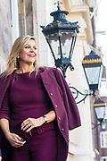 Koningin Maxima bij lancering Borski Fund voor vrouwelijke ondernemers in Museum Van Loon in Amsterdam. Dit nieuwe investeringsfonds richt zich op het versterken van financieringsmogelijkheden voor vrouwelijke ondernemers met groeiambities<br /> <br /> Queen Maxima at launch of Borski Fund for female entrepreneurs in Museum Van Loon in Amsterdam. This new investment fund focuses on strengthening financing opportunities for women entrepreneurs with growth ambitions