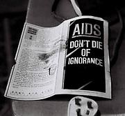 Aids Epidemic Pamphlet, UK, 1987.