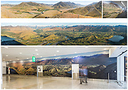 Christchurch International Airport - International Corridor Murals