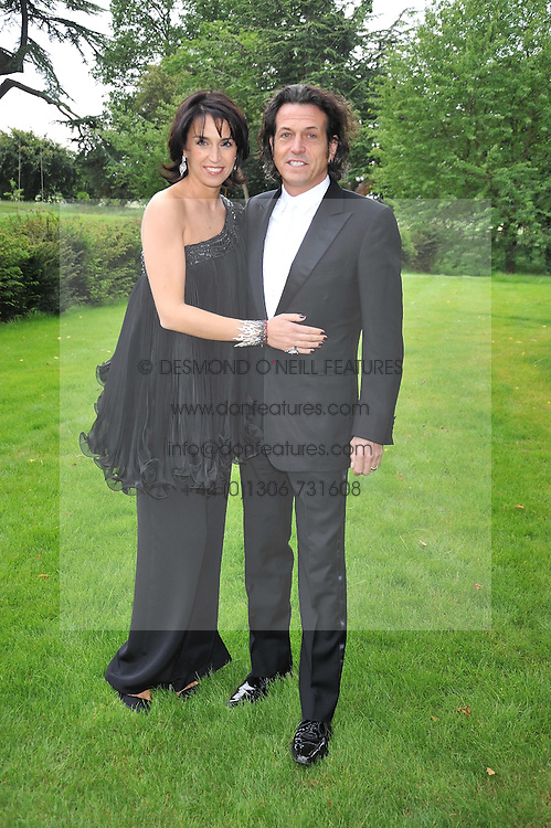 STEPHEN & ANASTASIA WEBSTER at the Raisa Gorbachev Foundation fourth annual fundraising gala dinner held at Stud House, Hampton Court, Surrey on 6th June 2009.