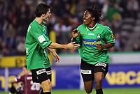 Fotball<br /> Belgia<br /> Foto: PhotoNews/Digitalsport<br /> NORWAY ONLY<br /> <br /> 06.10.2007<br /> STIJN DE SMET / HONOUR GOMBAMI