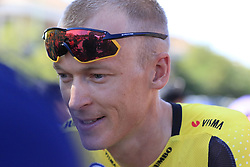 Robert Gesink (NED) Jumbo-Visma at sign on before the start of Stage 5 of La Vuelta 2019 running 170.7km from L'Eliana to Observatorio Astrofisico de Javalambre, Spain. 28th August 2019.<br /> Picture: Eoin Clarke | Cyclefile<br /> <br /> All photos usage must carry mandatory copyright credit (© Cyclefile | Eoin Clarke)