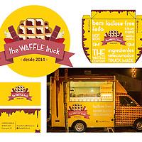 THE WAFFLE TRUCK<br /> Identidade visual e aplica&ccedil;&otilde;es para o food truck The Waffle Truck, de Lorenzo Baraldi.<br /> Fomos diretos na decis&atilde;o de escolha do nome. Auto explicativo, ajuda o neg&oacute;cio, que &eacute; o primeiro a servir este prato europeu em Santa Catarina.