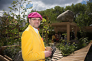 GAVIN TURK, Press view of the 2016 RHS  Chelsea Flower Show,  London.